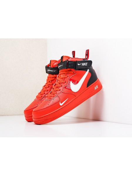 """Кроссовки Nike Air Force 1 07 Mid LV8 """"Red"""""""