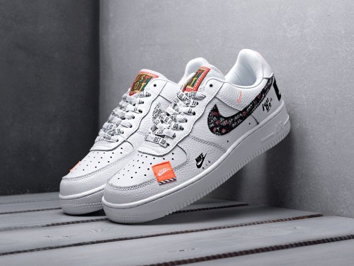 """Кроссовки Nike Air Force 1 '07 PRM 'Just Do It' """"White"""""""