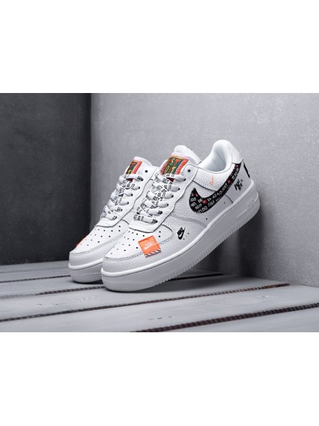 "Кроссовки Nike Air Force 1 '07 PRM 'Just Do It' ""White"""