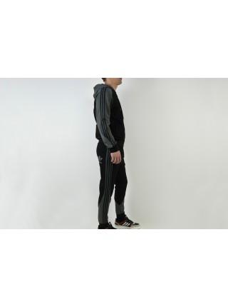 спортивный Костюм Adidas Black / Grey
