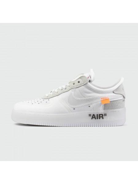 Кроссовки Nike Air Force 1 Low x Off-White Triple White