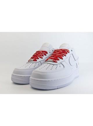 Кроссовки Nike Air Force 1 Low x Supreme White