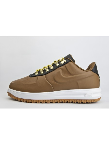 Кроссовки Nike Lunar Force 1 Duckboot Low Brown