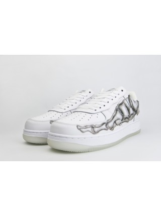 Кроссовки Nike Air Force 1 Low Triple White Skeleton