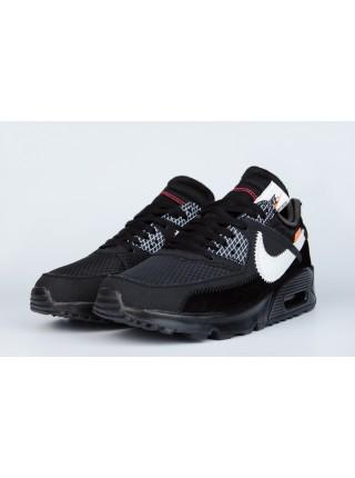 Кроссовки Nike Air Max 90 x Off-White Triple Black