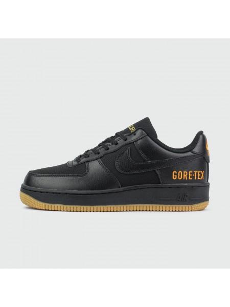 Кроссовки Nike Air Force 1 Low Gore-tex Black / Gum