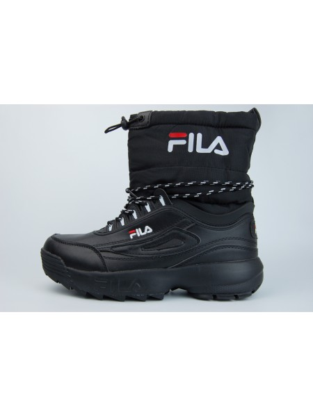 сапоги FILA Fur Triple Black