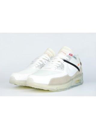 Кроссовки Nike Air Max 90 x Off-White White