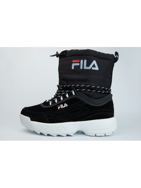 сапоги FILA Fur Black / White