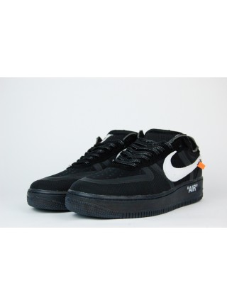 Кроссовки Nike Air Force 1 Low x Off-White Triple Black