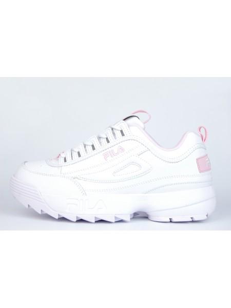 Кроссовки Fila Disruptor 2 Wmns White / Pink